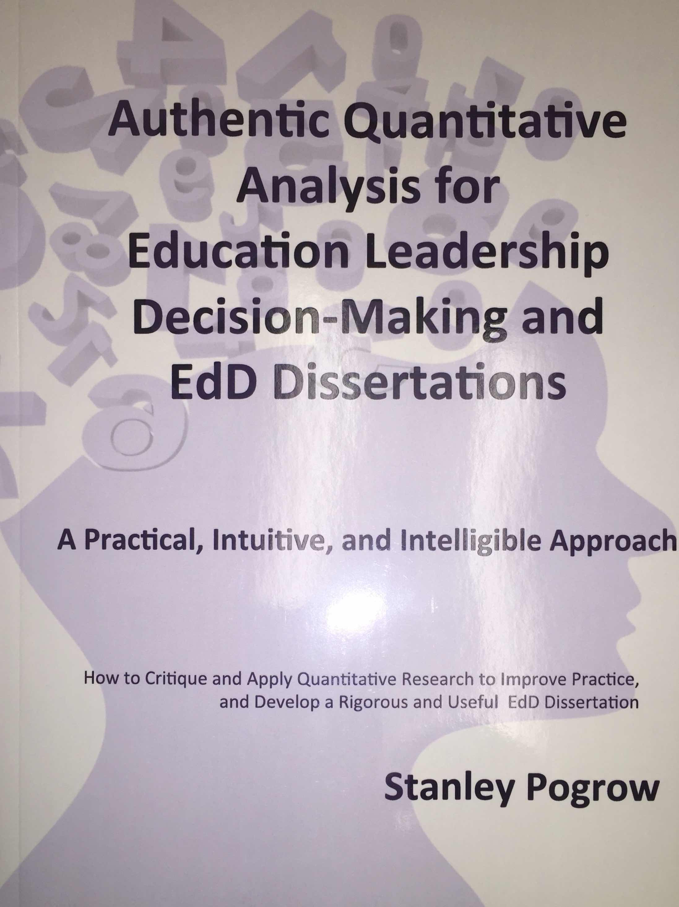 Dissertation topics in educational leadership